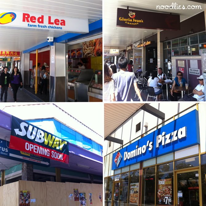 Cabramatta: here come the food chains