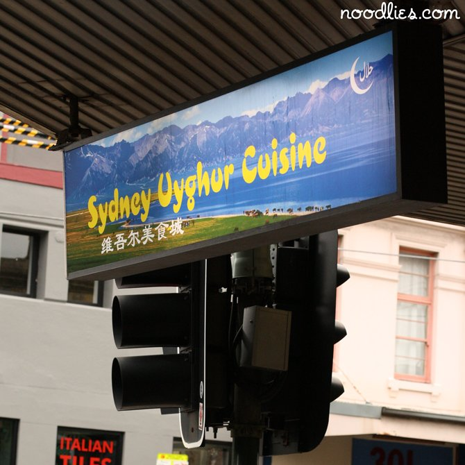 Uyghur, North West Chinese food in Sydney a noodlies round up