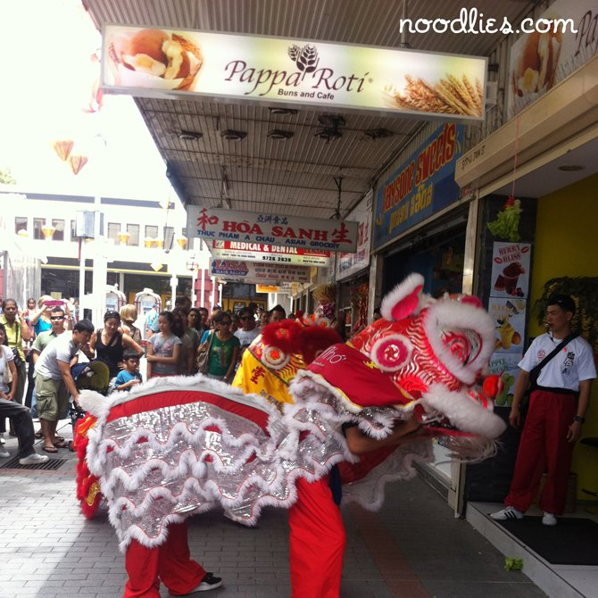 Lion Dance, Cabramatta, Lunar New Year 2012
