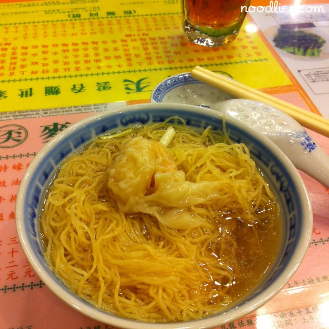 Chinese noodles: two of the best