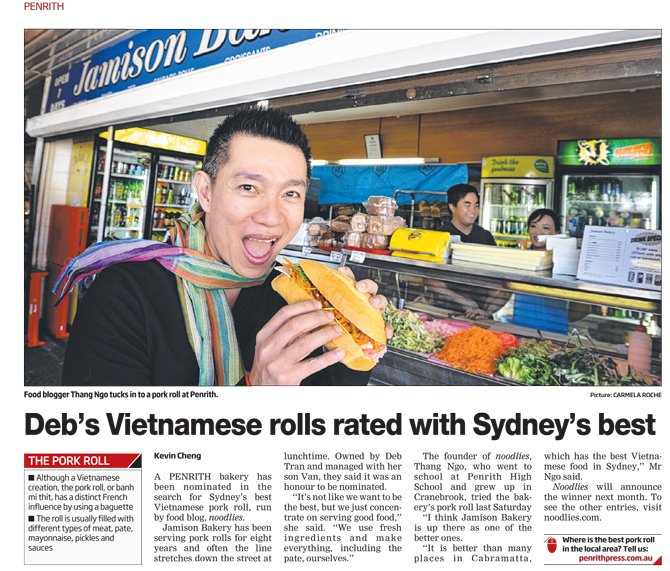 Penrith Press: Vietnamese Pork Rolls search heads west