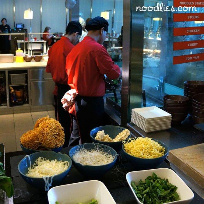 Breakfast at Gobo Chit Chat at Traders Hotel, Kuala Lumpur, Malaysia