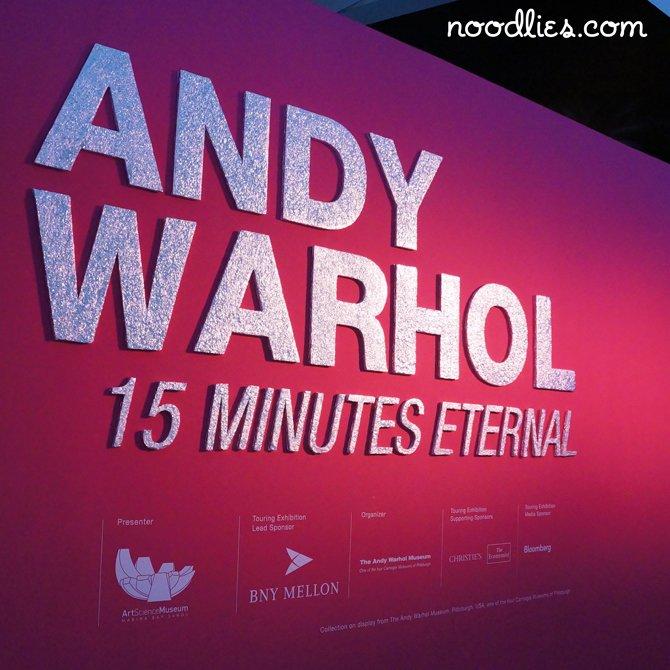 Andy Warhol, ArtScience Museum, Singapore