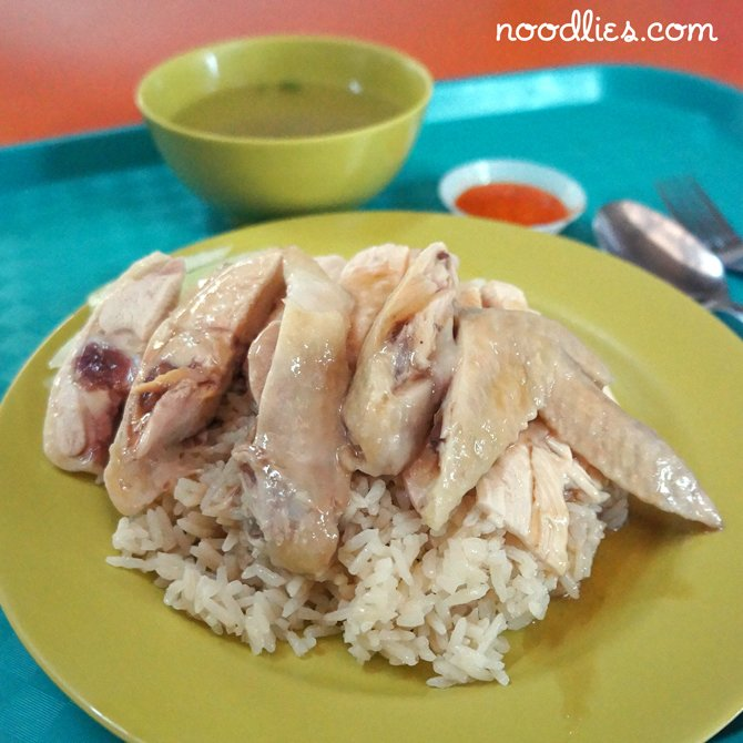 Tian Tian Hainanese Chicken, Singapore