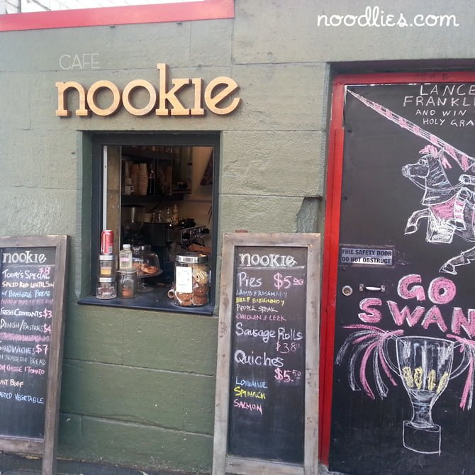 Cafe Nookie, Surry Hills