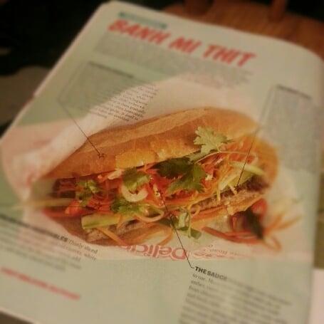 Pork Roll: banh mi thit in Sydney
