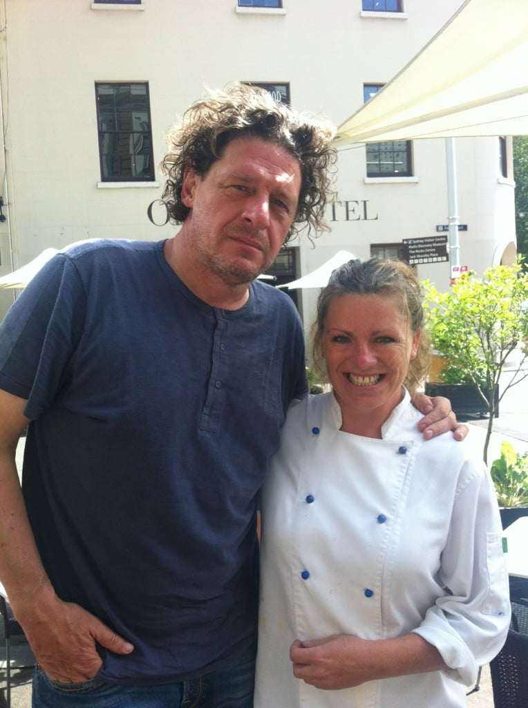 Marco Pierre White at Guylian?