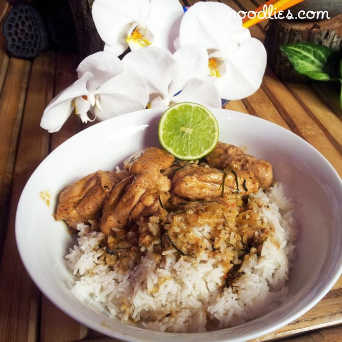Nonya Chicken Curry Recipe, Singaporean