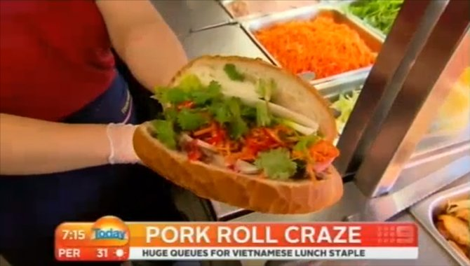 Pork Rolls, Banh Mi Thit Goes National