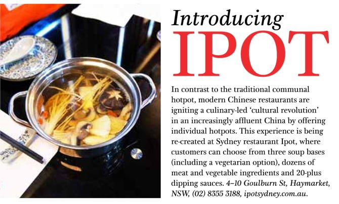 ipot Chinese hot pot, SBS Feast Magazine