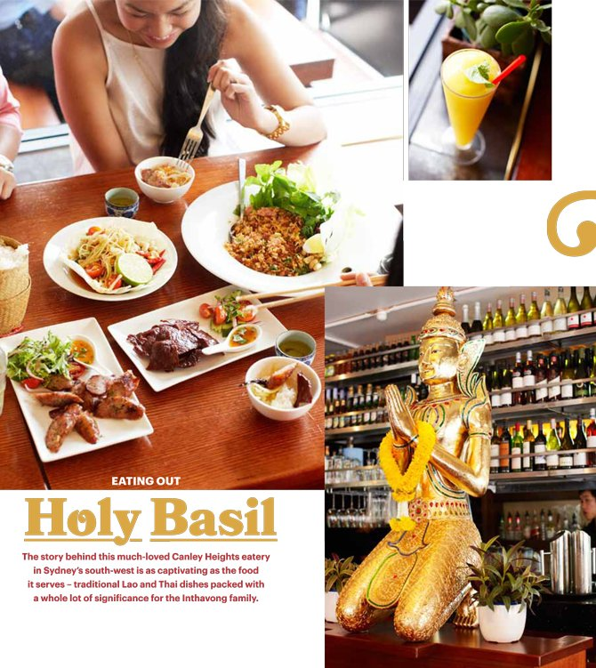 Feast Magazine, Holy Basil, Lao/Thai, Canley Heights