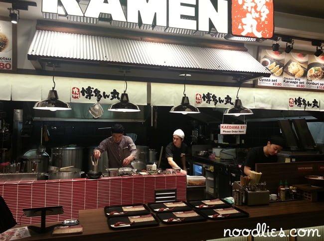 Hakata-Maru Ramen, Market City, Haymarket, Japanese
