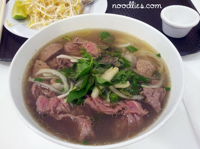 Where did Pho An place in Noodlies Sydney's Best Pho?