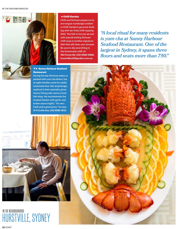 SBS Feast Magazine, Hurstville