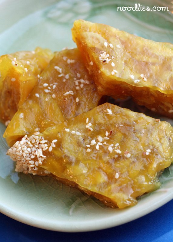 Vietnamese Dessert: Banh Chuoi Recipe, Banana Cake
