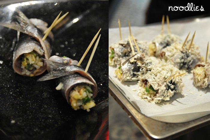Luke Nguyen's stuffed sardines recipe