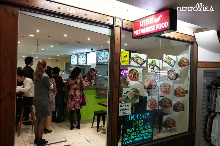little vietnamese food | noodlies - A Sydney food blog by Thang Ngo