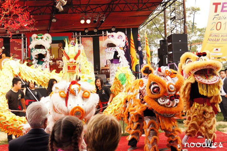 Tet: Vietnamese New Year 2011, Fairfield Showground