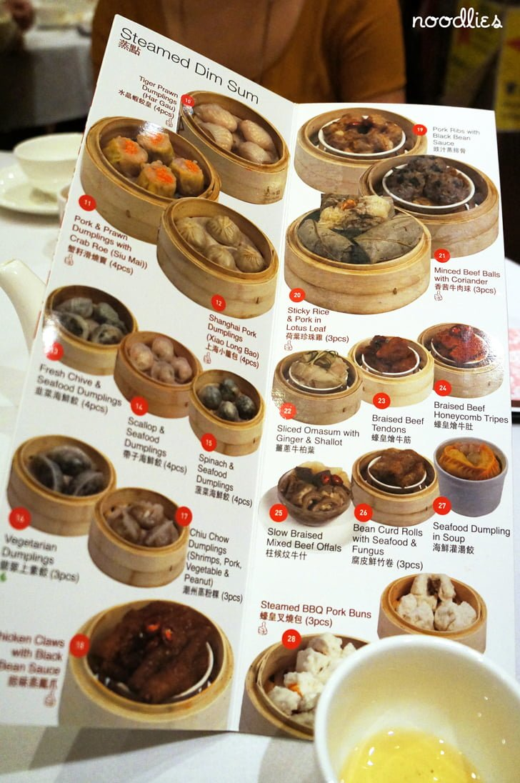 East Ocean Chinatown Yum Cha Menu Noodlies A Sydney