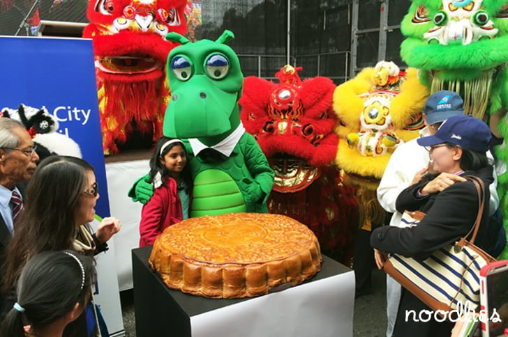 Australia's biggest moon cake, Cabramatta Moon Festival