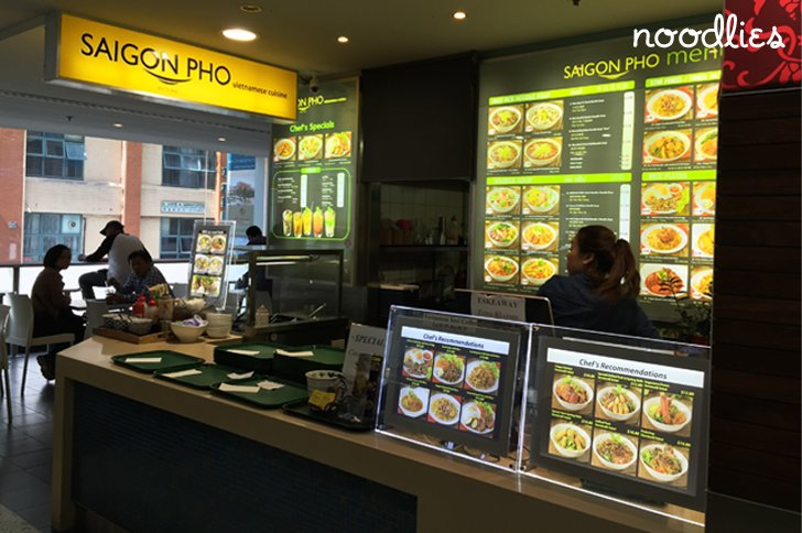 Saigon Pho Sussex Centre Food Court Chinatown Sydney