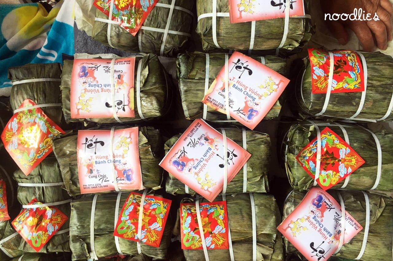 Vietnamese Banh tet