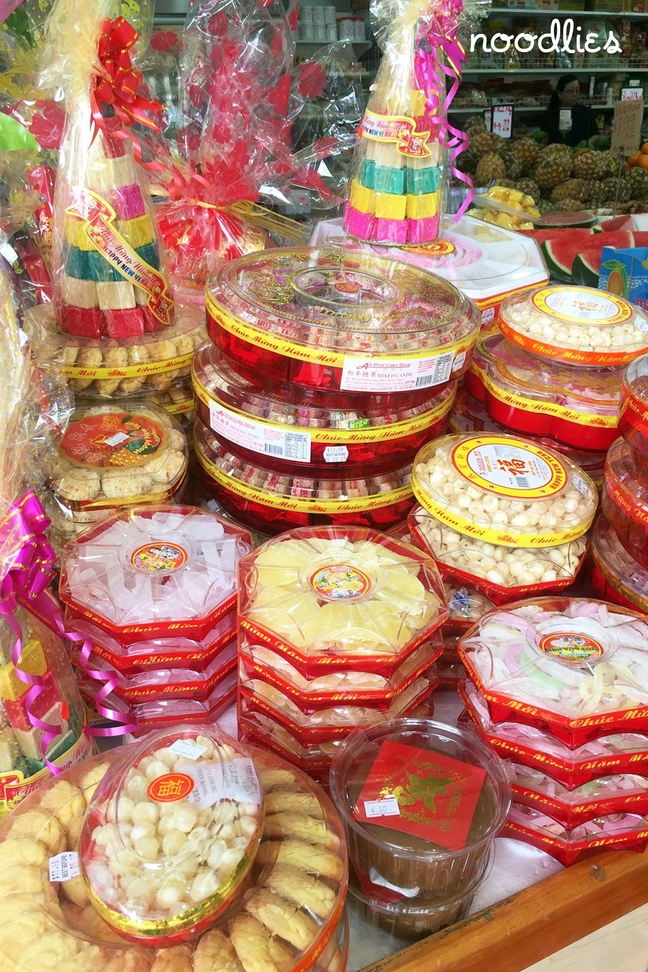 Vietnamese mut new year candy