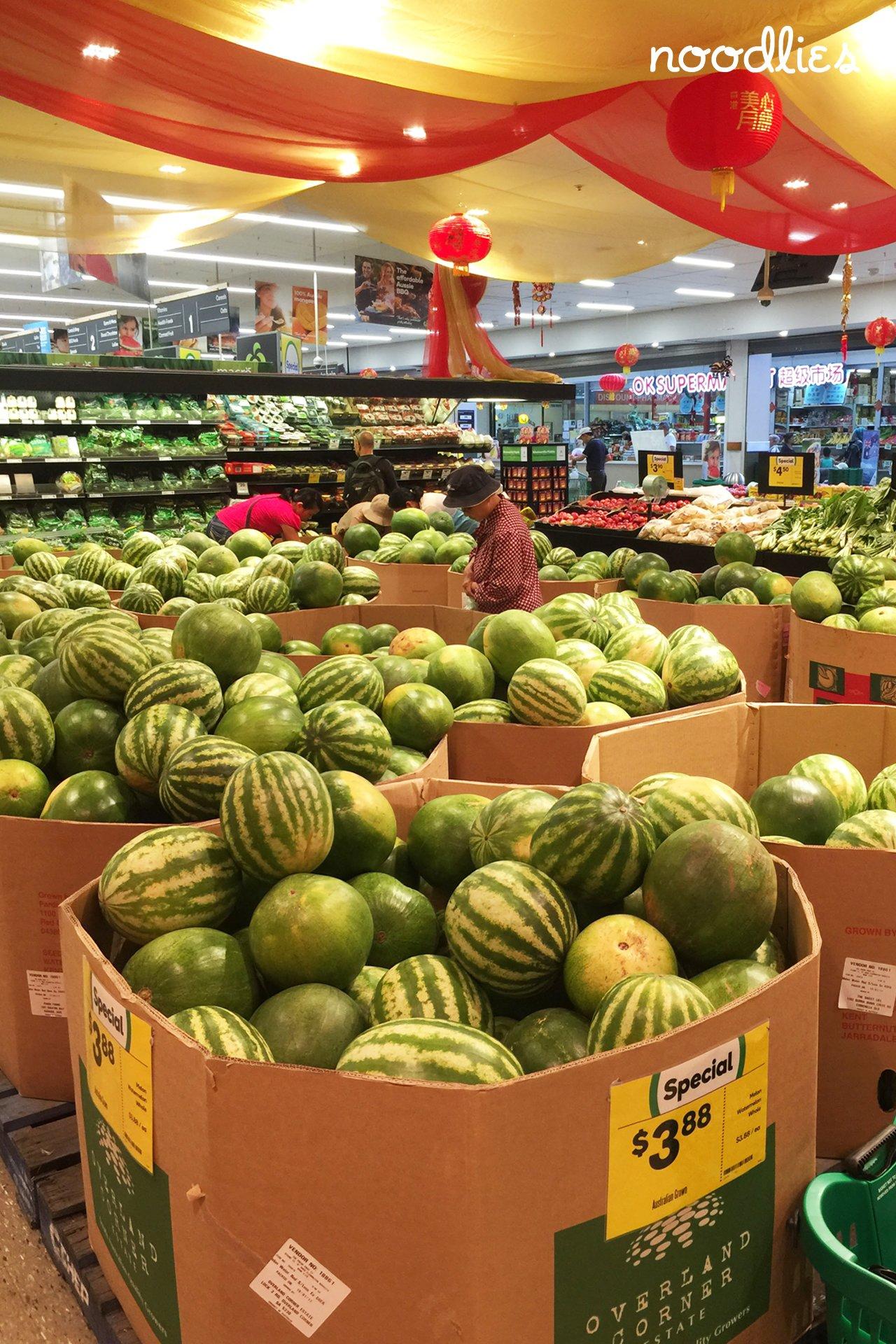 tet watermelon woolworths cabramatta