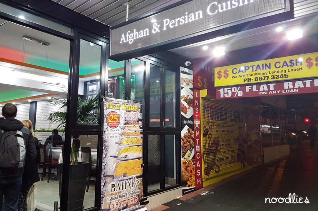 Bahar Afghan and Persian Restaurant Merrylands