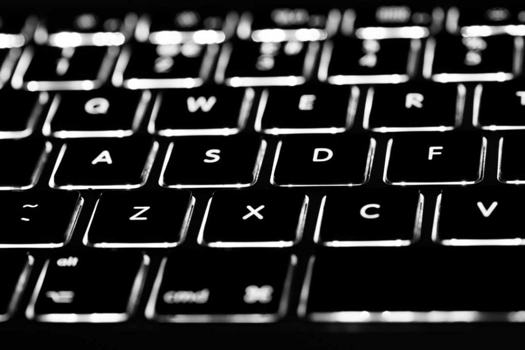 keyboard backlit