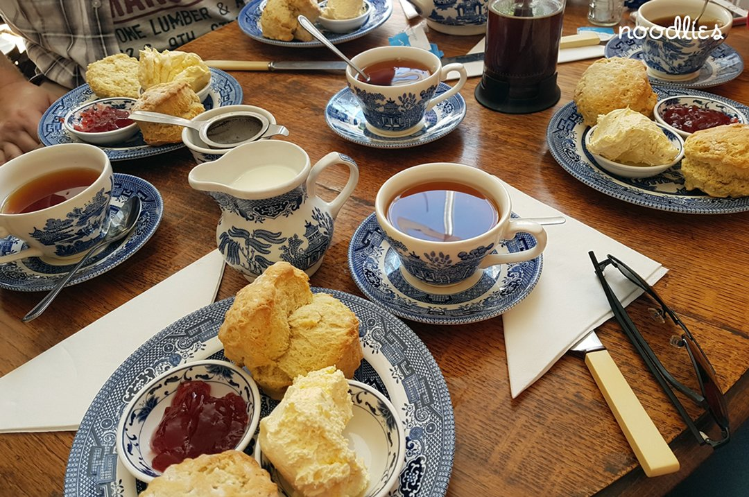 Cobbles tea room Rye cream tea
