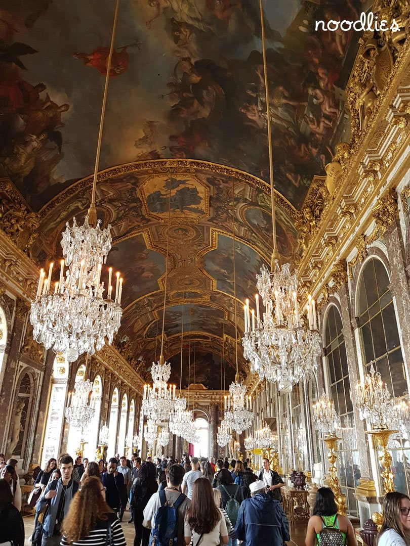 Palace of Versailles Gallery of Mirrors