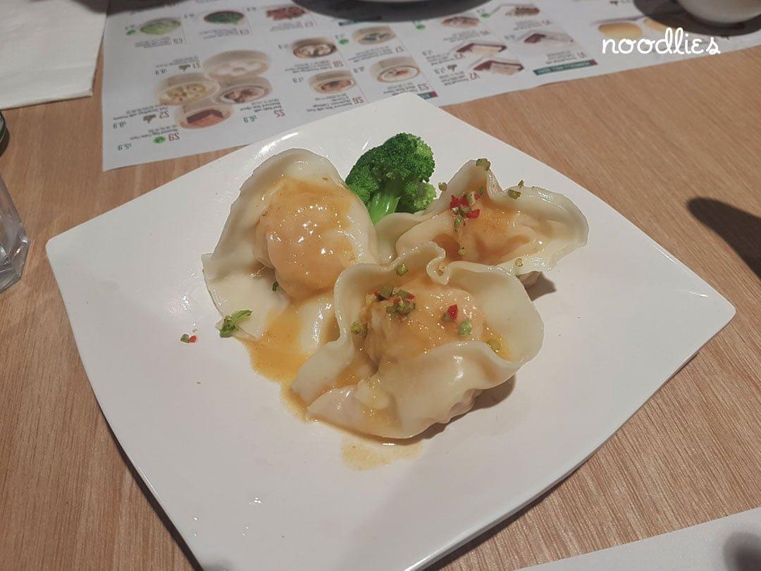 Tim Ho Wan Tom Yum Dumplings