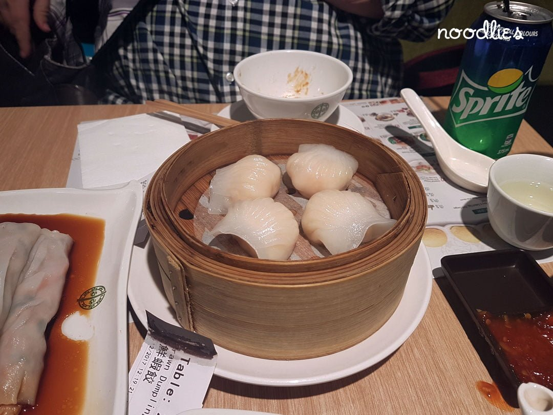 Tim Ho Wan prawn dumplings