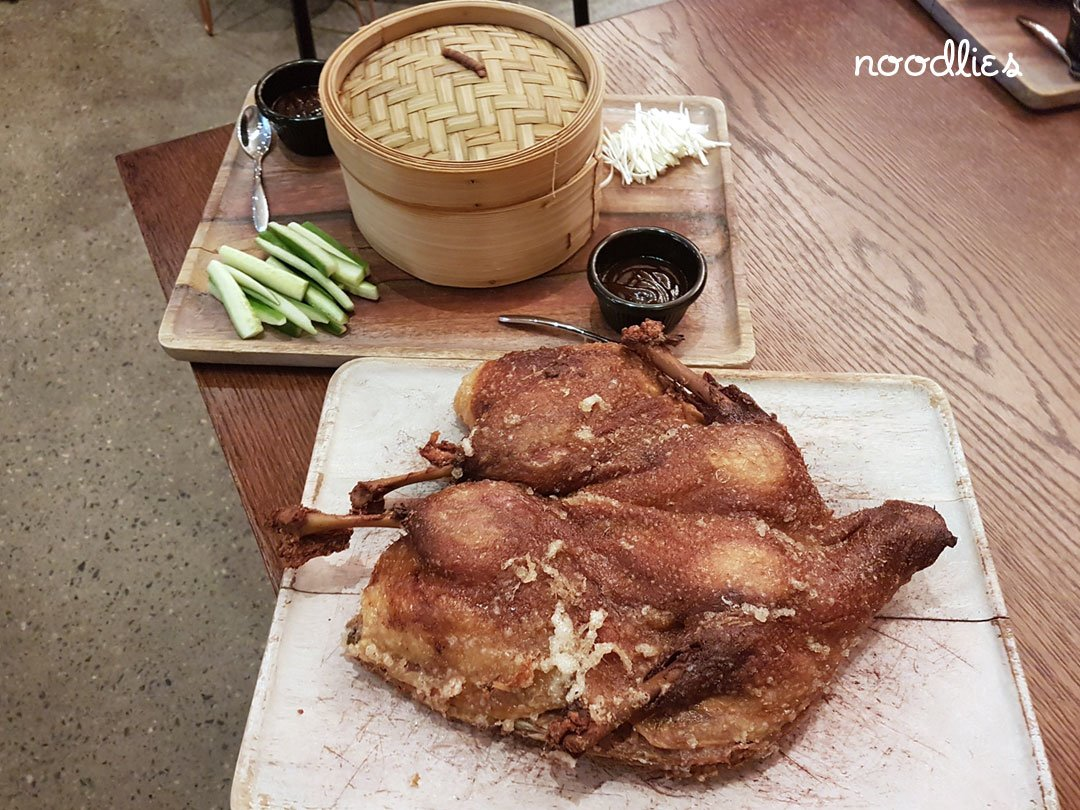Holy Duck! Chippendale. Roast duck!