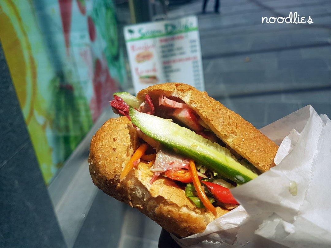 Saigon Delight pork roll - noodlies Sydney food blog