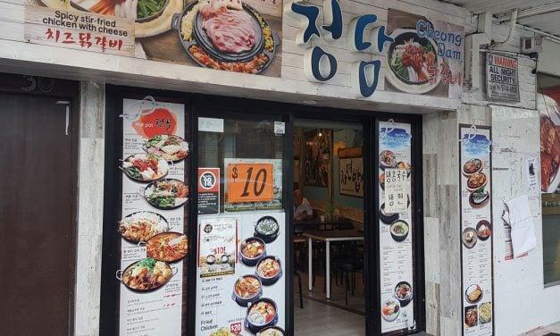 Cheongdam, Korean, Lidcombe