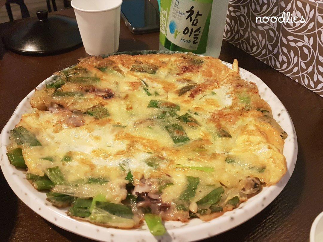cheongdam korean pancake