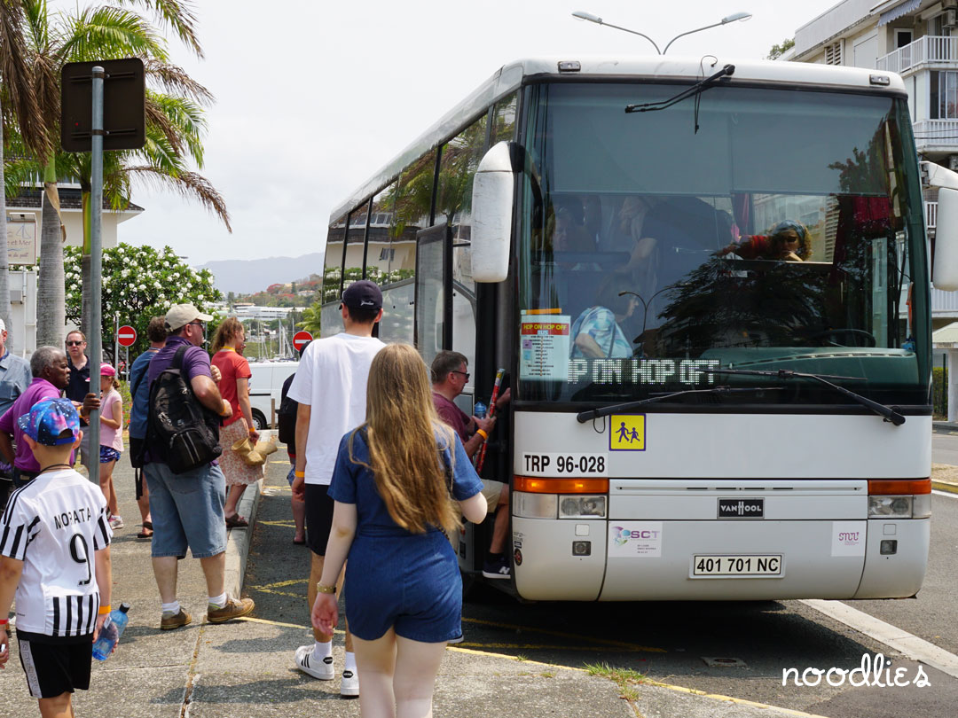 Noumea Hop on Hop Off Bus