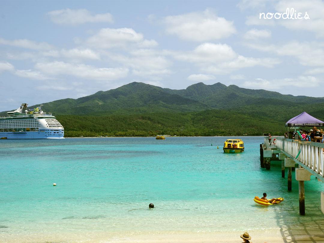 Voyager of the Seas Mystery Island Vanuatu